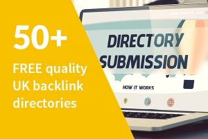 50 free UK directory backlinks to boost SEO score and grow online