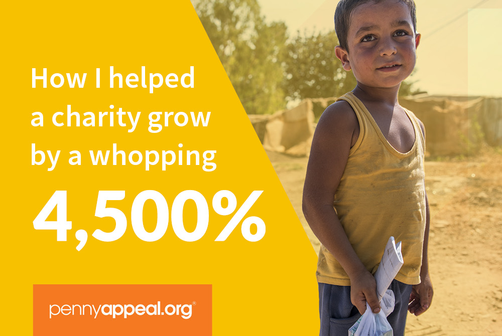 How I helped grow a charity with online digital marketing