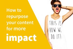 How to easily repurpose your content and grow your brand online