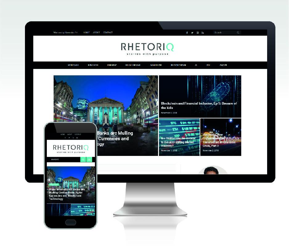 Rhetoriq Website