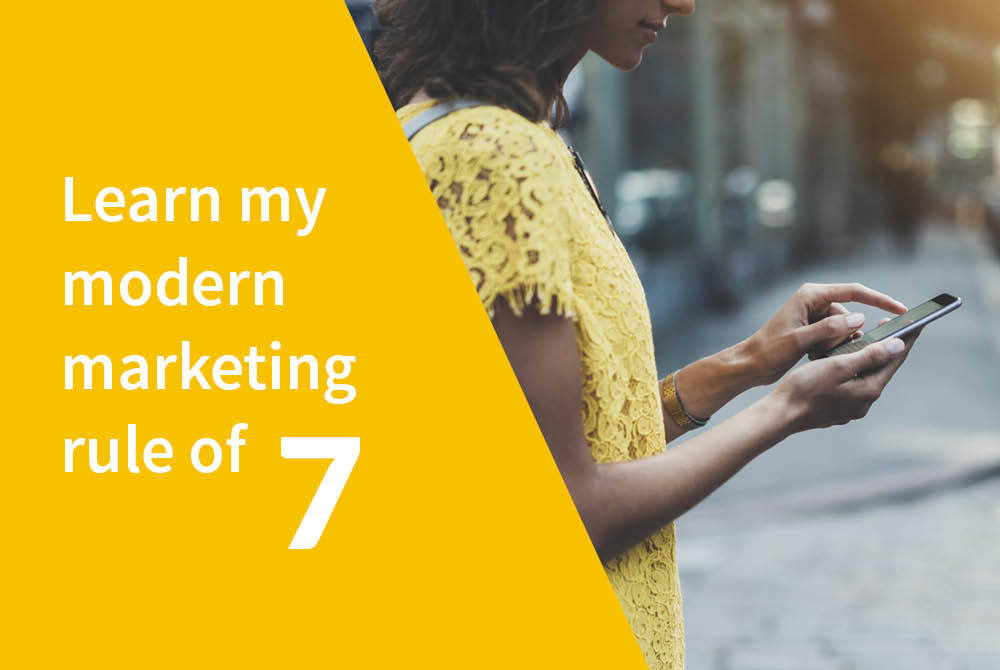 How my digital marketing rule of 7 can get you imstant results