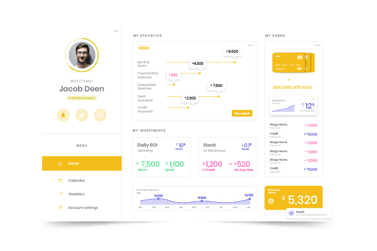 Jacobdeen Data Dashboard